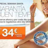 Garantía de buen tiempo en Iberostar
