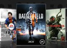 50% de descuento en juegos como FIFA 13, BattleField, Los Sims