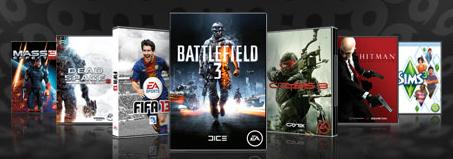 50% de descuento en multitud de juegos como el FIFA 13, Los Sims 3, Battefield.