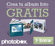 Álbum gratis solo por registrarte en Photobox