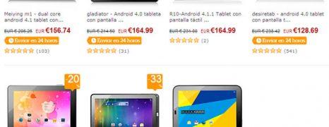 7 tablets Android 10 pulgadas por menos de 170€