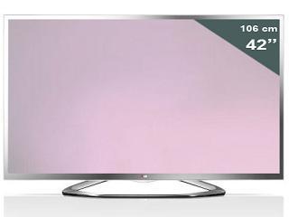 """Televisor LG 42LA6130 LED Cinema 3D 42"""" rebajado 200€"""