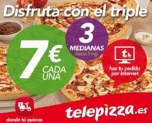 Las mejores promociones de Telepizza