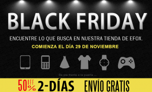 Black Friday 2013 en Efox
