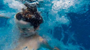 Foto con la GoPro debajo del agua