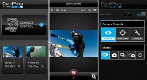 La aplicación para iPhone de la GoPro